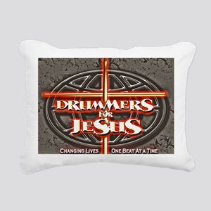 New-DFJ-Logo-3 Rectangular Canvas Pillow