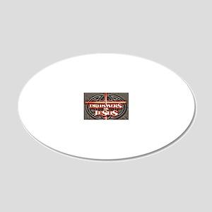 New-DFJ-Logo-3 20x12 Oval Wall Decal