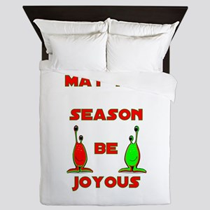 Joyous Season Queen Duvet