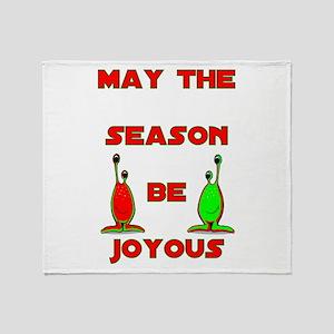 Joyous Season Throw Blanket