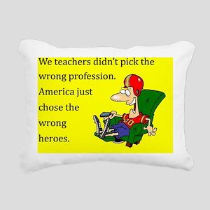 HeroPad Rectangular Canvas Pillow