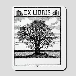 Ex Libris Tree Mousepad