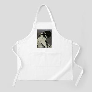 Woman-Wiping-her-face-Utamaro-Woodblock-iPad Apron