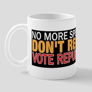 No More Spending Mug