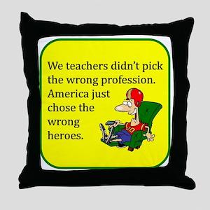 HeroTote Throw Pillow