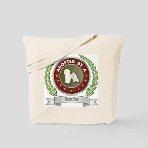 Bichon Adopted Tote Bag