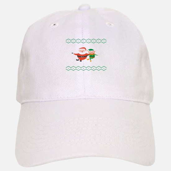 When I Think Of You I Touch My Elf Ugly Christ Baseball Baseball Cap