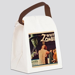 white_zombie_Lugosi BIG Canvas Lunch Bag