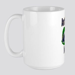 Don't Fiddle With Dragons Large Mug
