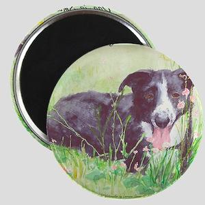 My Stock dog light green Magnet