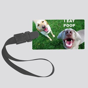 Dogspoop Large Luggage Tag