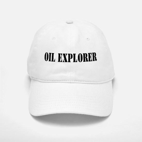 Oil Explorer Baseball Baseball Cap
