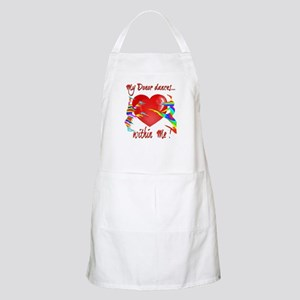 My Organ Donor Dances Within Me! Apron
