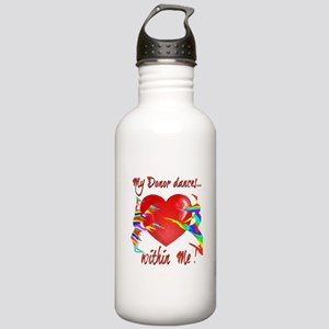 My Organ Donor Dances Within Me! Water Bottle