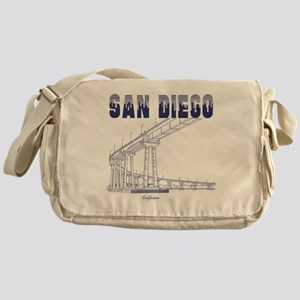 SanDiego_10x10_CoronadoBridge_Blue Messenger Bag