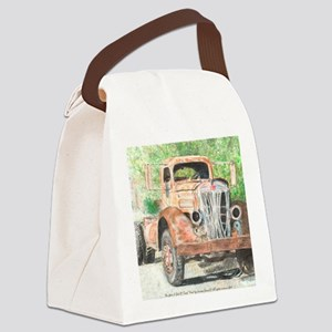 truck softened 2 Canvas Lunch Bag