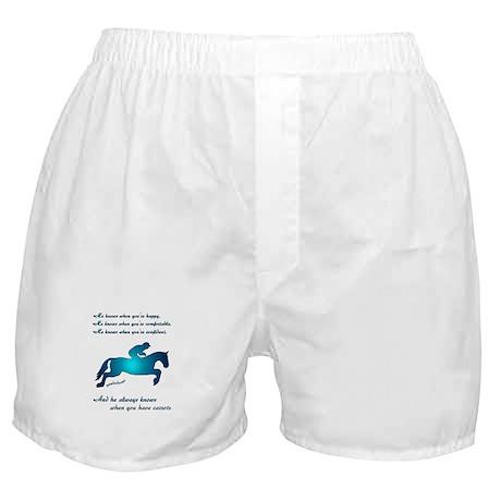Horses Love Carrots Boxer Shorts