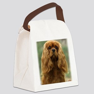 Cavalier King Charles Spaniel 9F5 Canvas Lunch Bag