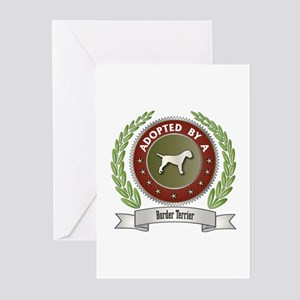 Terrier Adopted Greeting Cards (Pk of 10)
