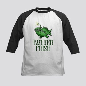 Rotten Phish Kids Baseball Jersey