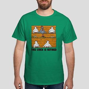 Retired Chick Dark T-Shirt