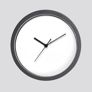 Boston_10x10_Skyline_White Wall Clock