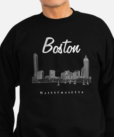 Boston_10x10_Skyline_White Sweatshirt (dark)