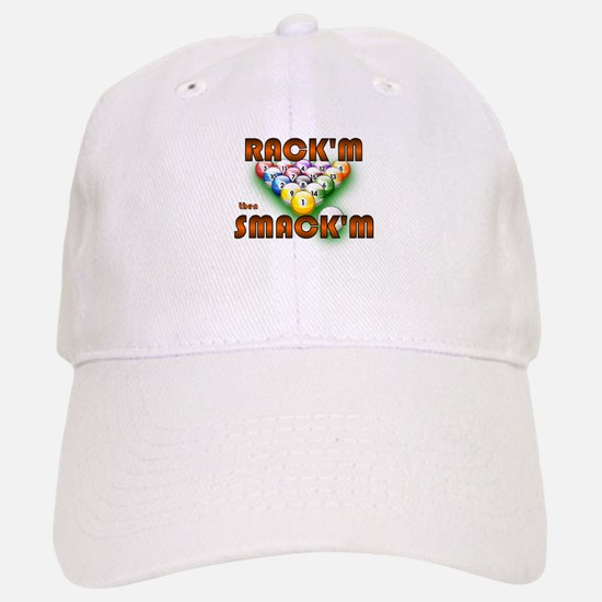'Rack'm then Smack'm' Baseball Baseball Cap
