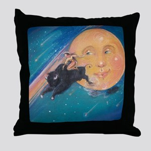 Cosmicowgirl Throw Pillow