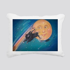 Cosmicowgirl Rectangular Canvas Pillow