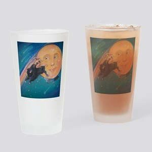 Cosmicowgirl Drinking Glass