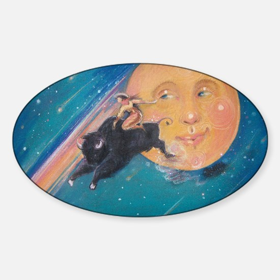 Cosmicowgirl Sticker (Oval)