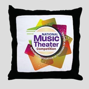 NMTClogo-12x12 Throw Pillow