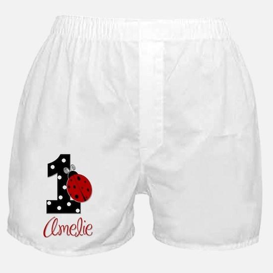 1_ladybug_birthdaygirl_AMELIE2 Boxer Shorts