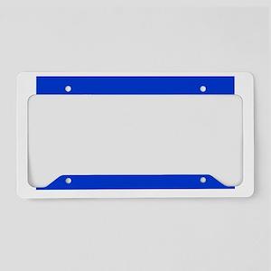 Israel Shirt License Plate Holder