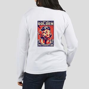Golden Retriever! USA Women's Long Sleeve T