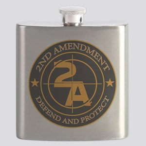 2ND Amendment 3 Flask