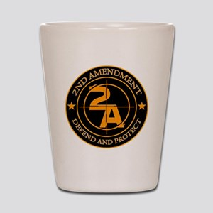 2ND Amendment 3 Shot Glass