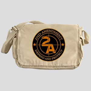 2ND Amendment 3 Messenger Bag