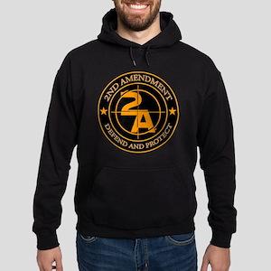 2ND Amendment 3 Hoodie (dark)