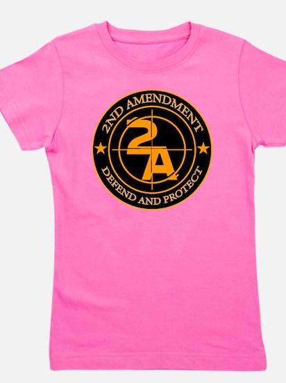 2ND Amendment 3 Girl's Tee