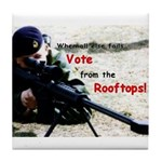 Voting Rights--Tile Coaster