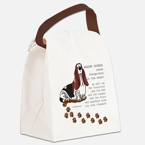 footprints-basset copy.gif Canvas Lunch Bag