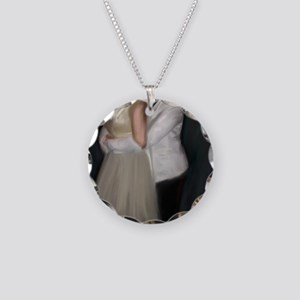 Prom_coaster Necklace Circle Charm