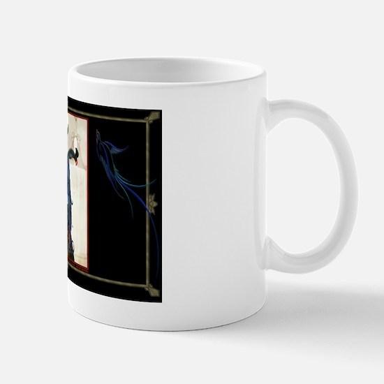 LAPTOP-#2 ADArtists-Dryden-LadyWParrot Mug