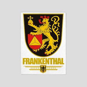 Frankenthal COA 5'x7'Area Rug