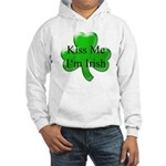 Kiss Me I'm Irish Hooded Sweatshirt