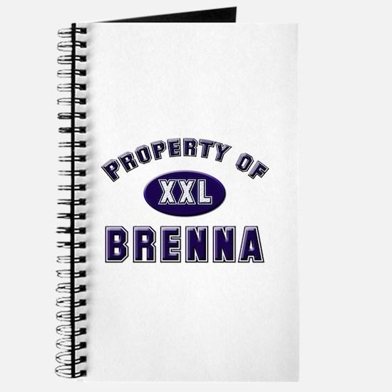 Property of brenna Journal