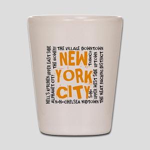 NYC_neighborhoods(on-white)2 Shot Glass