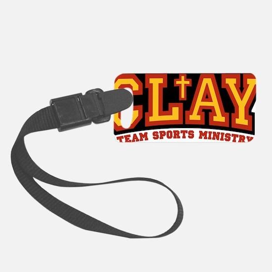 CLAY_logo_small Luggage Tag